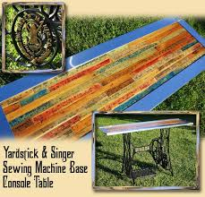 Upcycled Console Table with Gadgetsponge Com Repurposing Upcycling Birds U0026 Nature