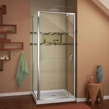 corner shower stalls kits showers the home depot flex