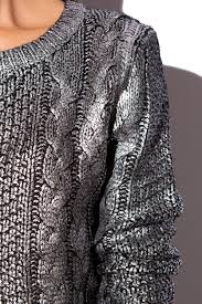 silver cardigan sweater 64 best metallic sweater images on my style sparkly