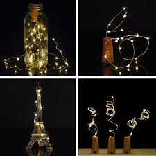 cork shaped led light string generix llc