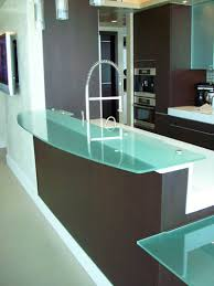 Glass Breakfast Bar Table Frosted Glass Counter Top And Breakfast Table Artistry In Glass