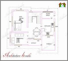 15 one bedroom house plans kerala3 bedroom single floor house