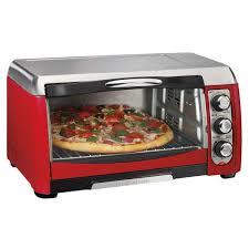 Hamilton Beach 4 Slice Toaster Hamilton Beach Red Ensemble 6 Slice Toaster Oven W Broiler Free