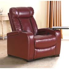 Reclining Chair Theaters Larson Leather Reclining Home Theater Chair Assorted Colors