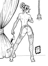 Pin Up Girls Coloring Pages Download Pin Up Coloring Pages
