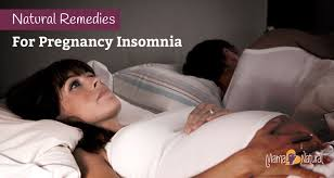 natural remedies for pregnancy insomnia