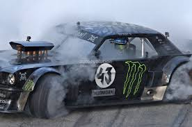 all wheel drive mustang conversion ken block s gymkhana 7 ford mustang 4x4 with 845hp