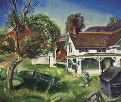 A Place Jim George Wesley Bellows Jim Twadell S Place Harn Museum Of