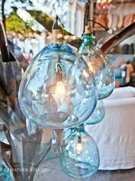 turquoise blue glass pendant lights greige interior design ideas and inspiration for the transitional