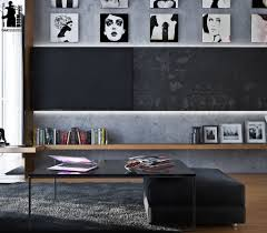 black and white interiors designs by style eclectic black and white interior artistic