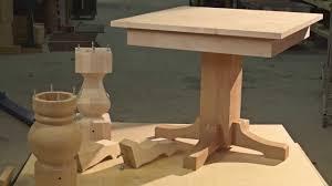 Pedestal Table New Pedestal Table Kits Youtube