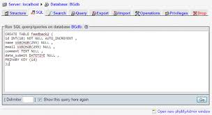 sql create table primary key autoincrement nemsacademy com learn programming