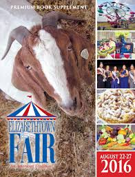 elizabethtown fair premium book supplement 2016 by engle printing
