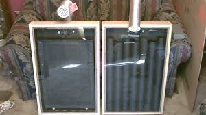 short patio heater how to a make solar air heater that produces 140 degree