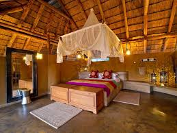 spacious mediterranean bedroom interior design ideas with wooden