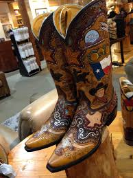 limited edition texas state boots from benchmark by old gringo