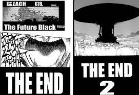 otaku nuts bleach chapters 678 679 680 the future black the end