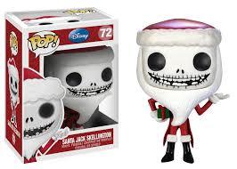 pop disney nightmare before santa skellington