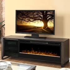 dimplex howden 75 inch electric fireplace media console glass
