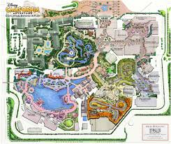 Map Of California Adventure Possible Disneyland Buildouts Courtesy Of Sam Wilson Disneyland