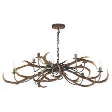 Metal Antler Chandelier Antler Chandeliers Ceiling Lighting Cotterell U0026 Co Online