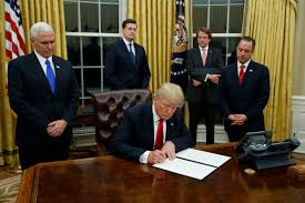 trump signs executive order directed at obamacare white house
