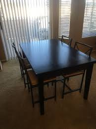 round table aliso viejo crate and barrel cabria dark extension dining table furniture in