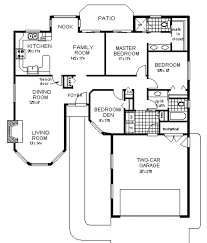 Single Story Ranch Style House Plans Ranch Style House Plan 3 Beds 2 00 Baths 1450 Sq Ft Plan 18 107