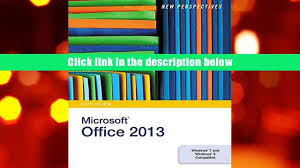 read online new perspectives on microsoft office 2013 first