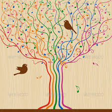 musical tree by iatsun graphicriver