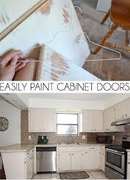 How To Repaint Cabinet Doors Easily Paint Cabinet Doors Diy A Bigger