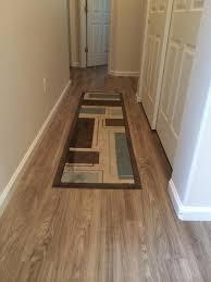 lvt luxury vinyl flooring modern hallway landing