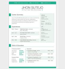 Good Resume Builder 28 Free Cv Resume Templates Html Psd U0026 Indesign Web