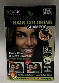 less damaging hair colors amazon com nicka k natural herbal hair coloring shoo beauty