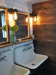 Cottage Bathroom Lighting Cottage Style Bathroom Lighting Farmhouse With Metal Bath Inside