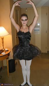 Woman Black Halloween Costume Black Swan Diy Halloween Costume