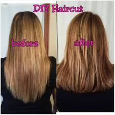 different ways to cut the ends of your hair easy how to cut your own hair in layers youtube