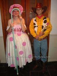 Woody Halloween Costumes Rated Couple Costume Woody Bo Peep Woody Costumes