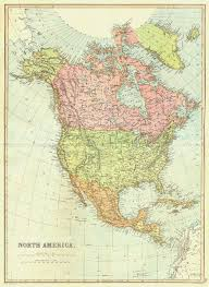 map of mexico and america central america usa canada mexico caribbean blackie 1893