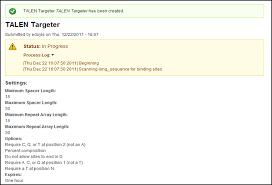 Optimal Resume Cornell Talen Targeter Tutorial Tal Effector Nucleotide Targeter 2 0