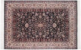 Black Persian Rug Isfahan Design Rugs U0026 Carpets Carpets By Dilmaghani