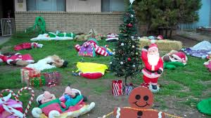 Blow Up Christmas Decorations Motor by Inflatables Coming To Life Youtube