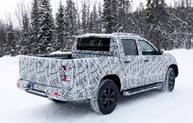 Ford Camo Truck - mercedes pickup truck sheds some camo for spy photographers