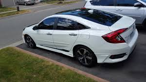 black and teal car the stormtrooper 2016 honda civic forum 10th gen type r