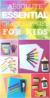 absolute essential craft supplies for inner child