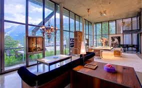 luxury ski chalet heinz julen loft zermatt switzerland