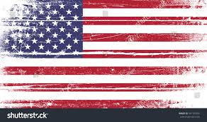 Old Flag Usa Flag United States America Old Dyed Stock Vector 547197655