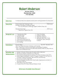 Entry Level Resume Sample High Entry Level Resume Examples Augustais