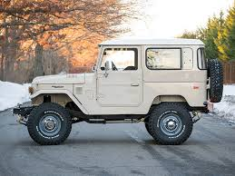 military land cruiser toyota fj40 land cruiser offered at auction without reserve