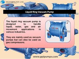 Water Ring Vaccum Pump Liquid Ring Vacuum Pump Applications And Features By Www Ppipumps C U2026